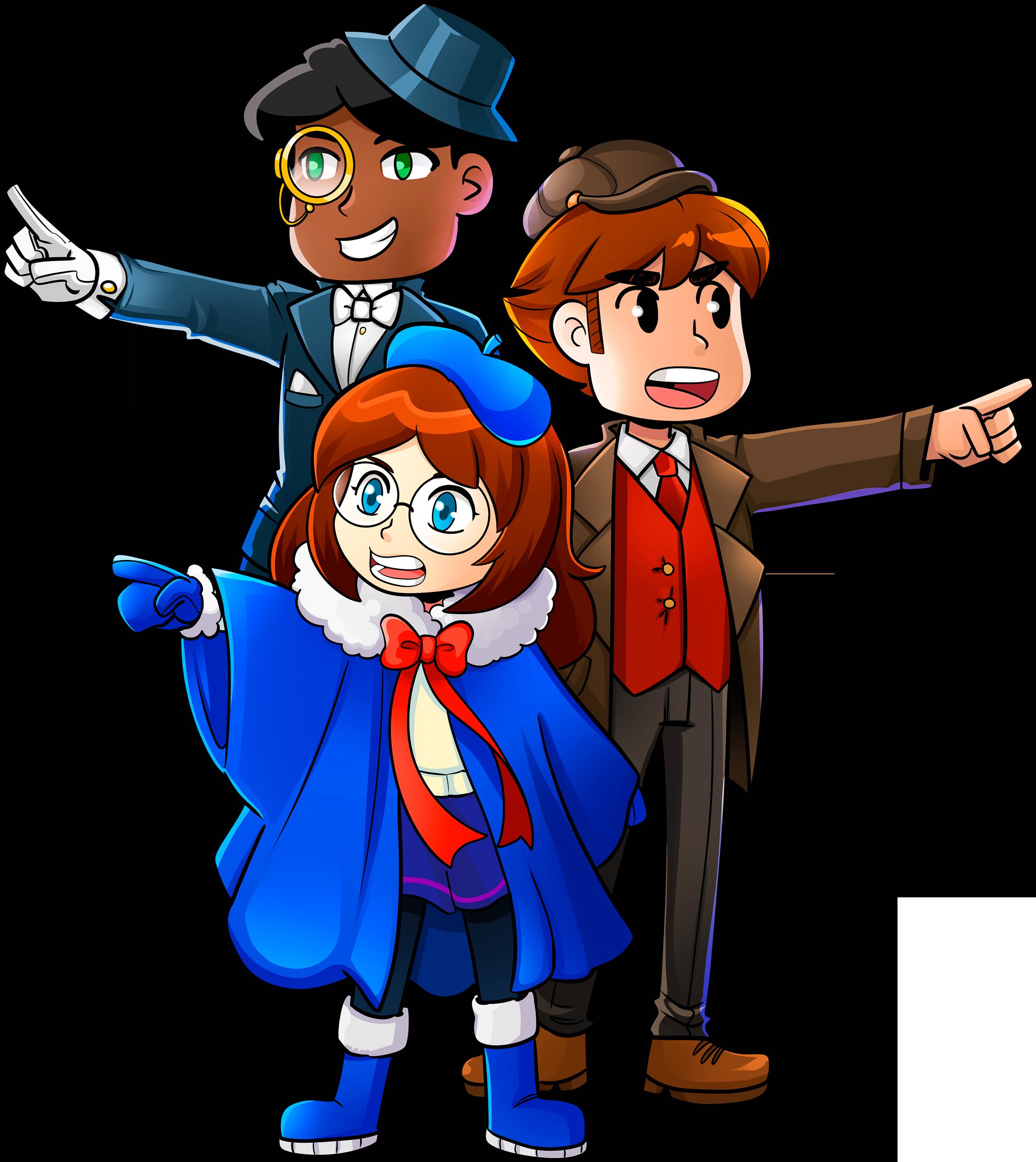 1,2 BLAME - Characters