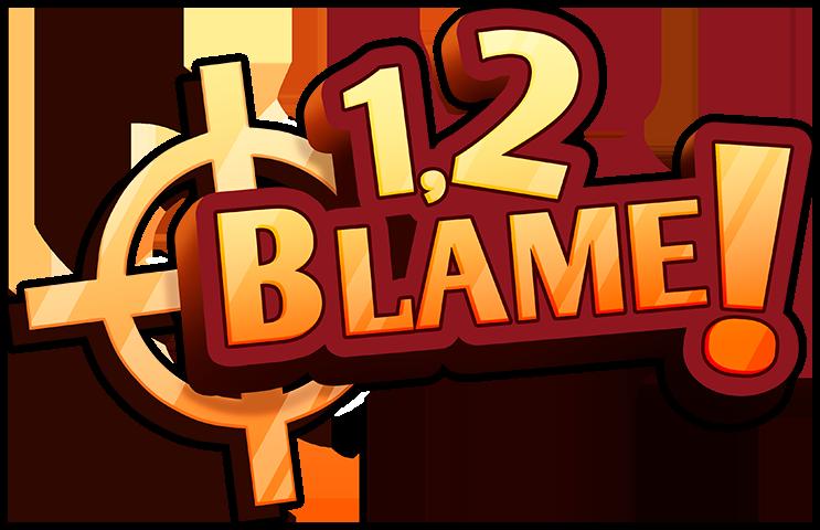 1 2 BLAME - Logo